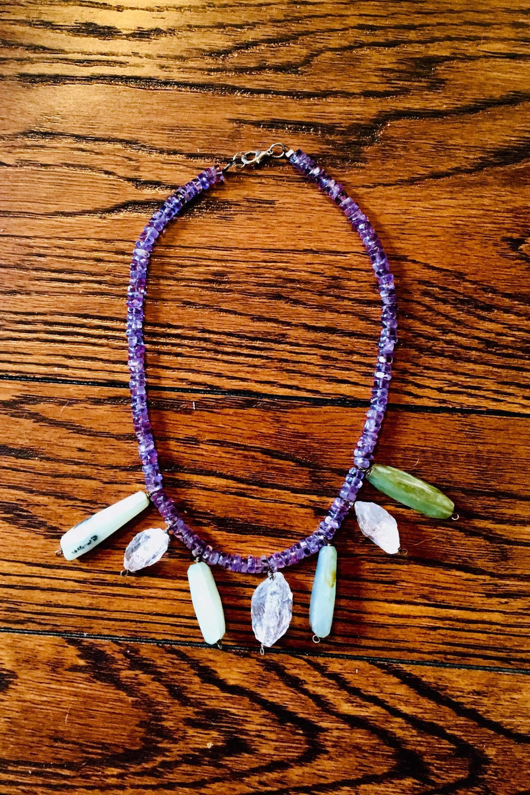 Love's Hangover Creations Amethyst Necklace - Main Image