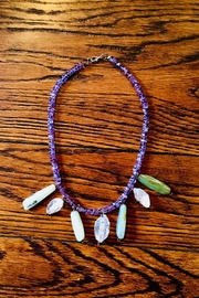 Love's Hangover Creations Amethyst Necklace - Front cropped