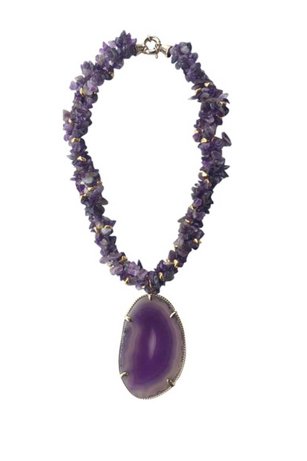 Love's Hangover Creations Amethyst Queen Necklace - Main Image