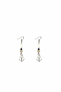 Shoptiques Product: Anchor Glamour Earrings