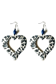 Love's Hangover Creations Animal Print Earrings - Front cropped