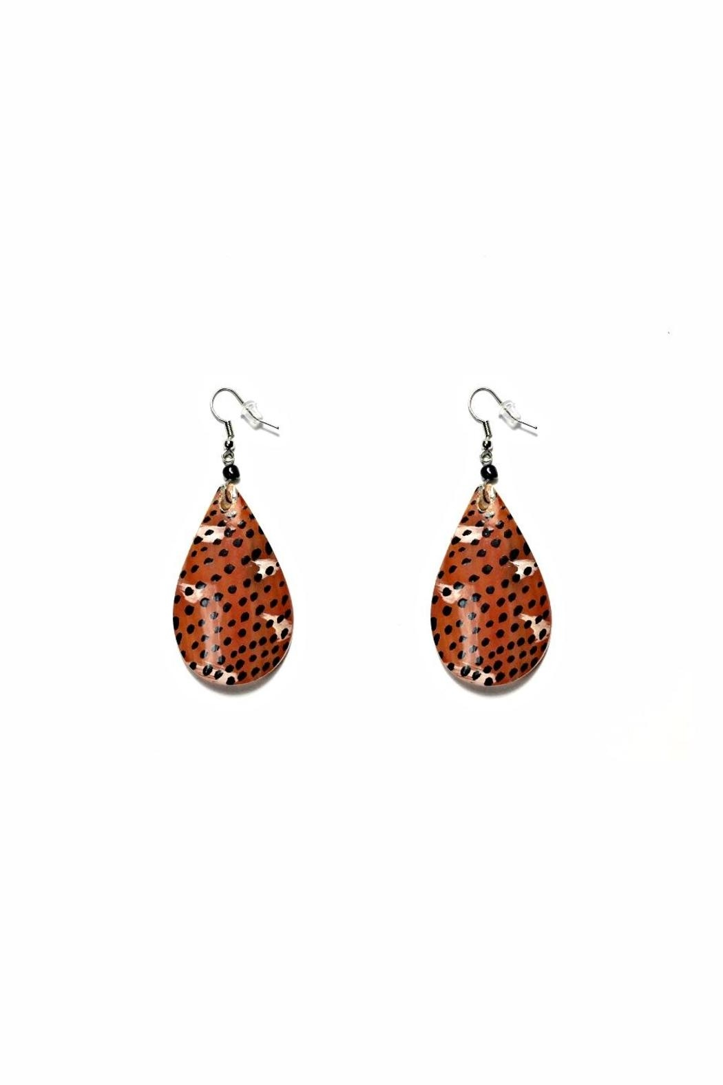 Love's Hangover Creations Animal Print Earrings - Main Image
