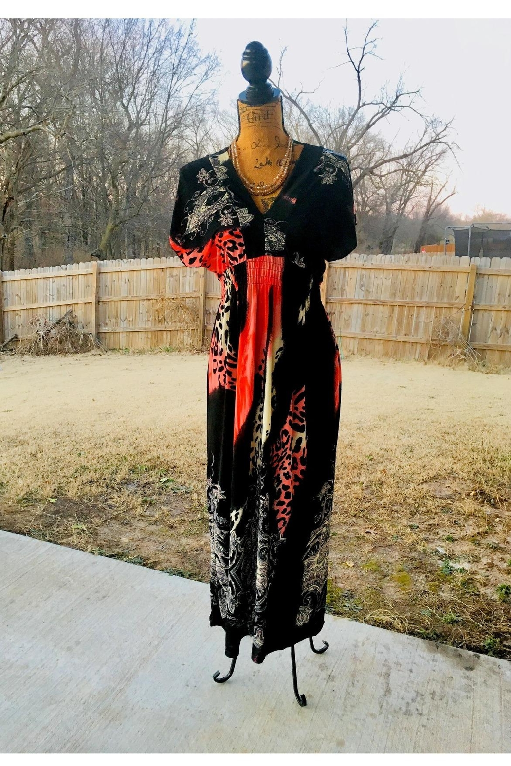 Love's Hangover Creations Animal Print Maxi - Front Full Image
