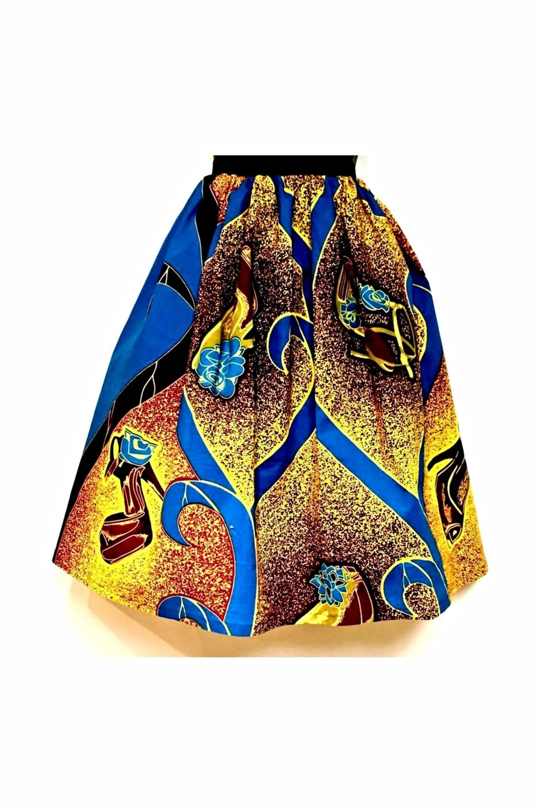 Love's Hangover Creations Ankara Print Skirt - Main Image