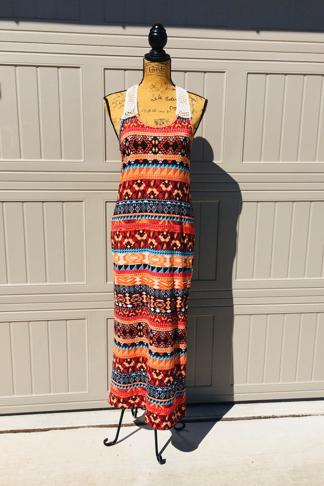 Love's Hangover Creations Arizona Maxi Dress - Front Cropped Image