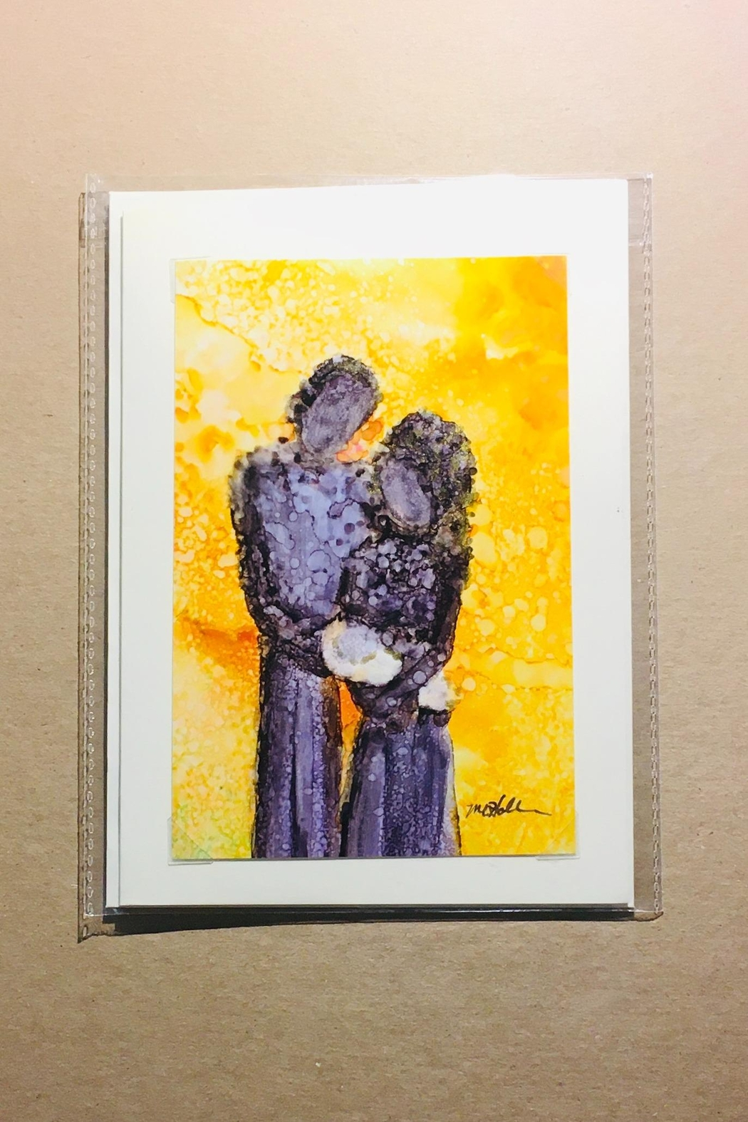 Love's Hangover Creations Bentonville Hand-Painted Card - Main Image