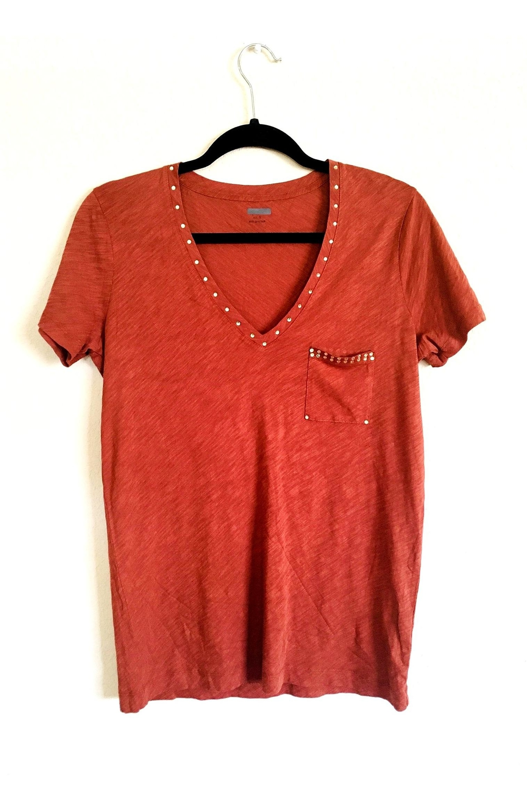 Love's Hangover Creations Blingy V-Neck Shirt - Front Cropped Image
