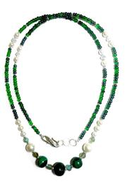 Love's Hangover Creations Bonzenga Malachite Necklace - Product Mini Image