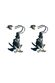 Love's Hangover Creations Buccaneers Pirate Earrings - Front cropped