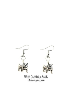 Love's Hangover Creations Bulldog Earrings - Alternate List Image