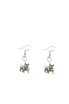Love's Hangover Creations Bulldog Earrings - Product List Image