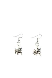 Love's Hangover Creations Bulldog Earrings - Front cropped