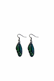 Love's Hangover Creations Butterfly Wing Earrings - Front cropped
