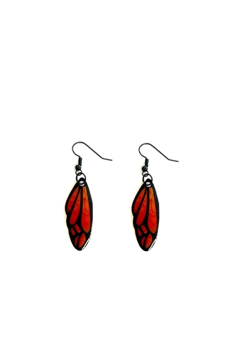 Love's Hangover Creations Butterfly Wing Earrings - Main Image