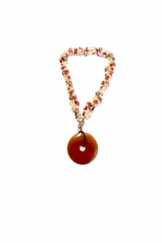 Love's Hangover Creations Carnelian Necklace - Front cropped