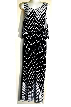 Love's Hangover Creations Chevron Maxi Dress - Alternate List Image
