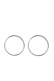 Love's Hangover Creations Angela Hoops Earrings - Front cropped