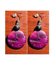 Love's Hangover Creations Coconut-Husk Eco Earrings - Product Mini Image