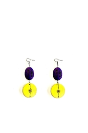 Love's Hangover Creations Color Block Earrings - Front cropped
