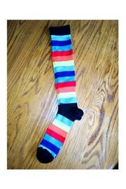 Love's Hangover Creations Compression Socks Rainbow - Front cropped
