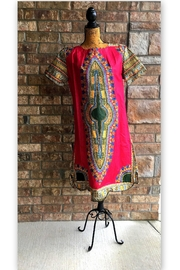 Love's Hangover Creations Dashiki Maxi Dress - Front cropped