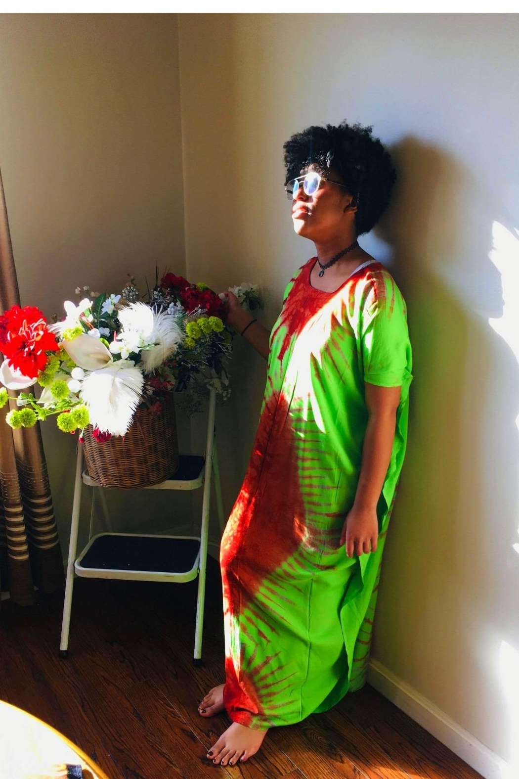 Love's Hangover Creations East African Kaftan - Front Full Image