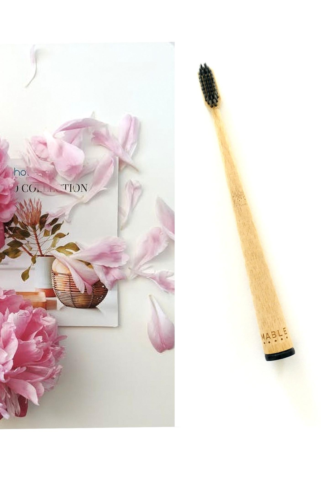 Love's Hangover Creations Ecofriendly Charcoal-Infused Toothbrush - Main Image