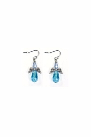 Love's Hangover Creations Glass Angel Earrings - Product Mini Image