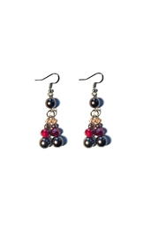 Love's Hangover Creations Glass Pearl Earrings - Product Mini Image