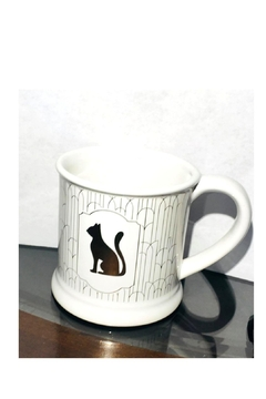 Love's Hangover Creations Gold Cat-Lover Mug - Alternate List Image