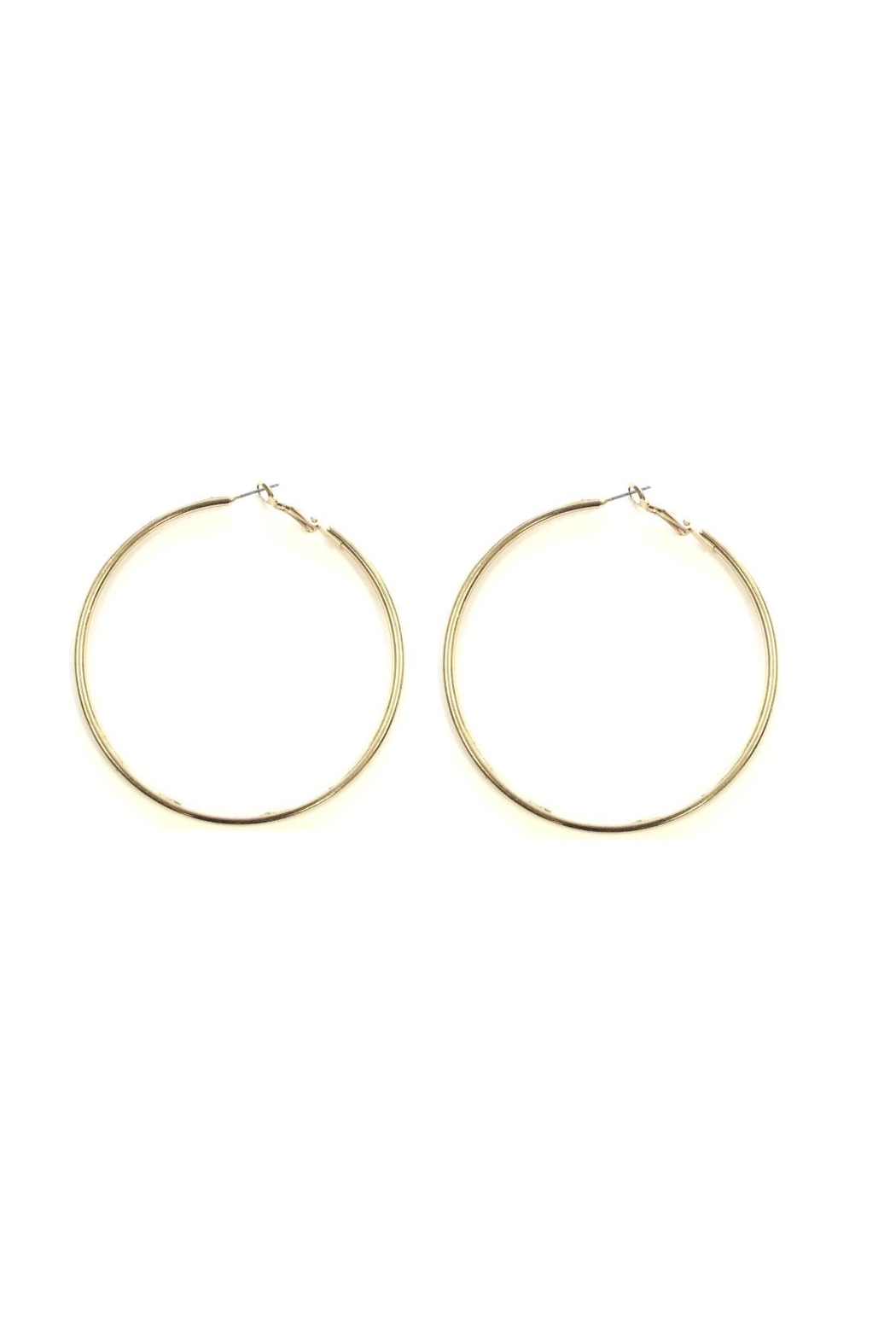 Love's Hangover Creations Gold Hoops - Main Image