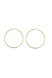 Love's Hangover Creations Gold Hoops - Front cropped