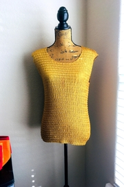 Love's Hangover Creations Gold Stretch Top - Product Mini Image