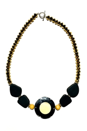 Love's Hangover Creations Golden Horn Necklace - Product Mini Image