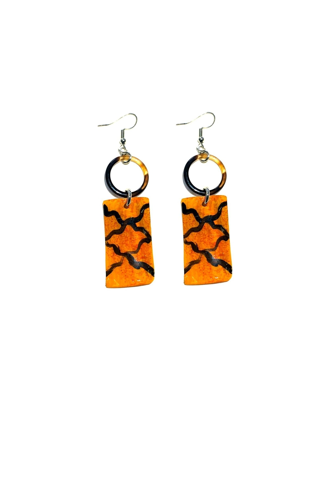 Love's Hangover Creations Hakuna Matata Earrings - Front Cropped Image