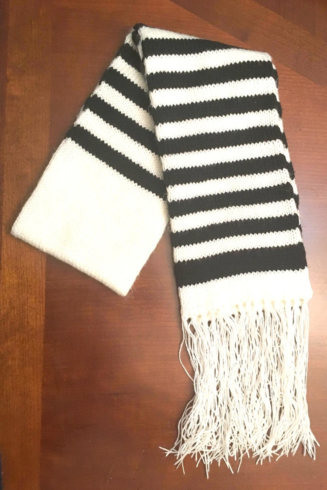Love's Hangover Creations Hand Knitted Scarf - Main Image