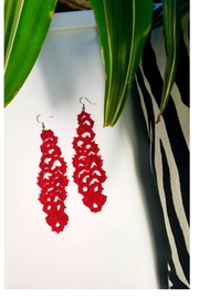 Love's Hangover Creations Handmade Crochet Earrings - Product Mini Image