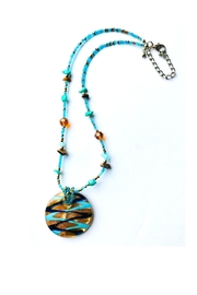 Love's Hangover Creations Handmade Seaside Necklace - Front cropped