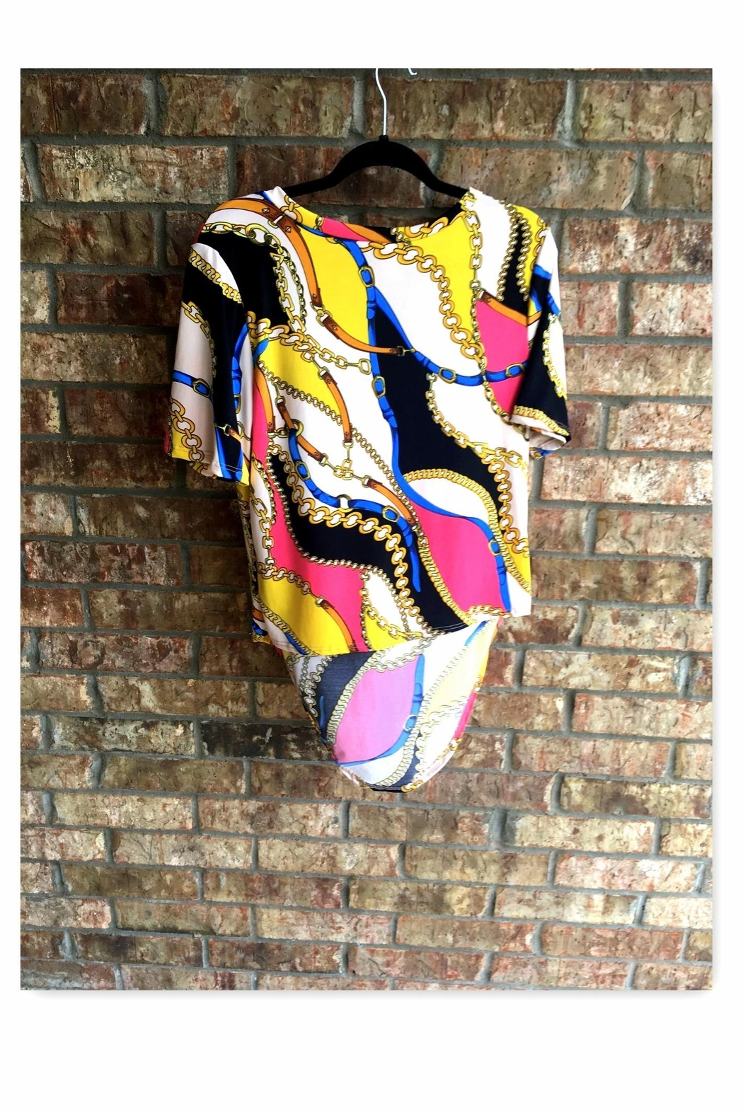 Love's Hangover Creations High-Low Chain Top - Front Full Image