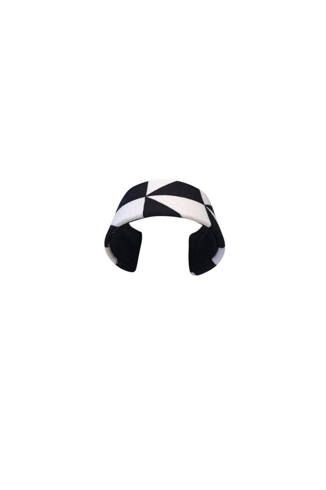 Love's Hangover Creations Adjustable Indianapolis Black-White-Cuff - Main Image