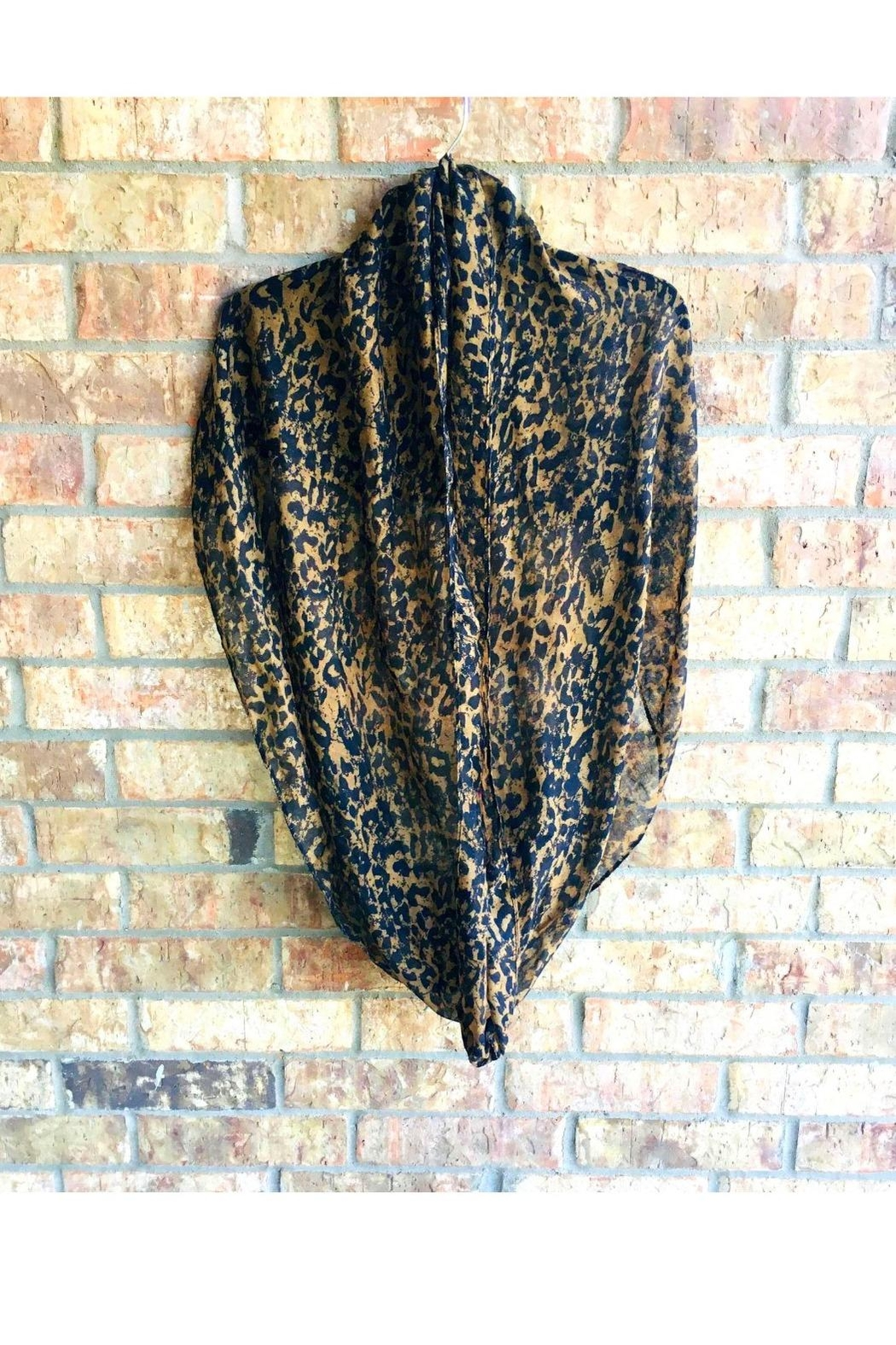 Love's Hangover Creations Infinity Animal-Print Scarf - Front Cropped Image