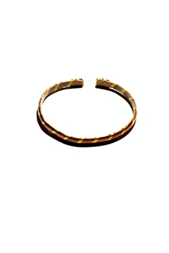 Love's Hangover Creations Kiswahi Brass-Copper Bangle - Alternate List Image