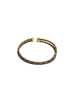 Love's Hangover Creations Kiswahili Brass-Copper Bangle - Alternate List Image