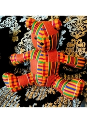Love's Hangover Creations Kwanzaa Cuddle Bear - Front cropped
