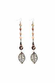 Love's Hangover Creations Leaf Earrings - Product Mini Image