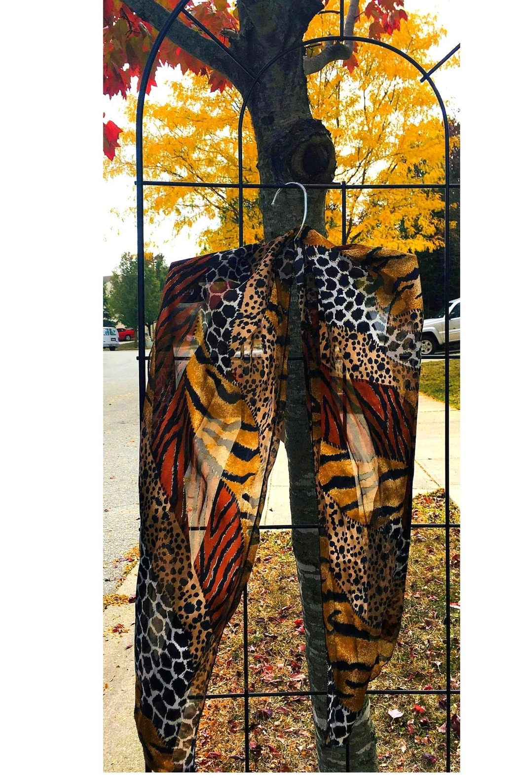 Love's Hangover Creations Leopard Print Scarf - Main Image