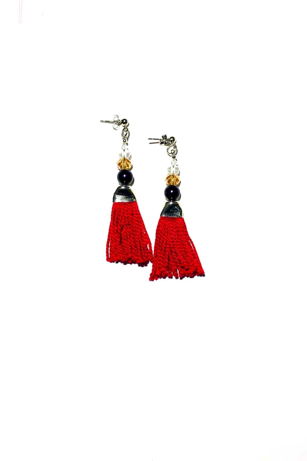 Love's Hangover Creations Lho Thread Earrings - Main Image