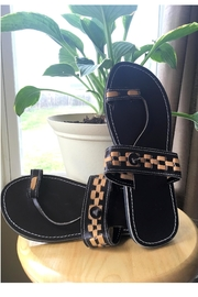Love's Hangover Creations Maasai Leather Sandals - Product Mini Image