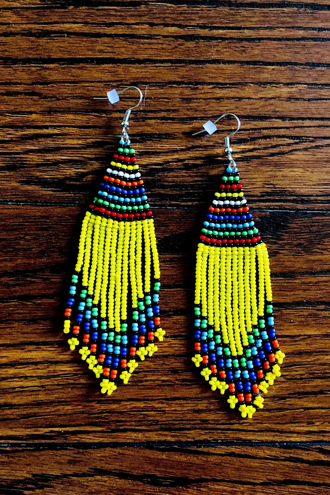 Love's Hangover Creations Maasai Market Earrings - Front Cropped Image