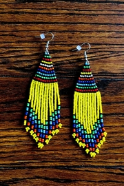 Love's Hangover Creations Maasai Market Earrings - Front cropped